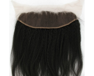 Lace frontal Kinky Straight 18''