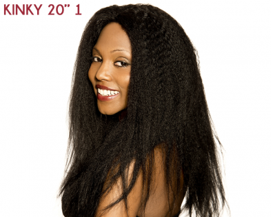 Lace Front Kinky Straight 20''
