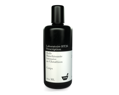 Huile blanchissante intensive au glutathion PRESCRIPTION